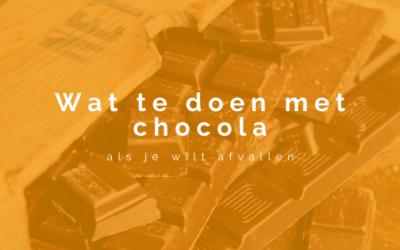 Wat te doen met chocola als je wilt afvallen